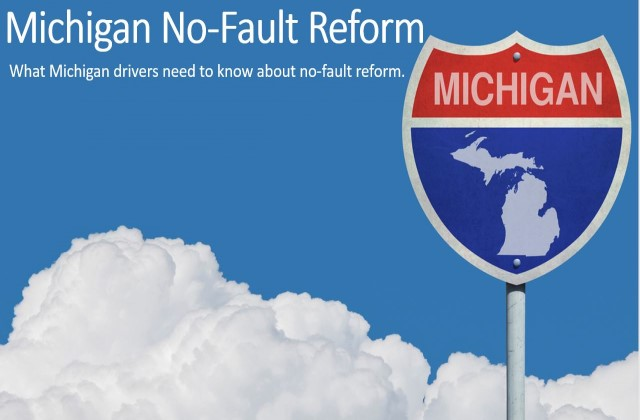 Michigan No-Fault Reform